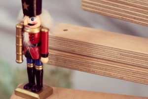 Tin Soldiers Christmas Tree Ornament for Wooden Tree Decoration, available at One Two Tree