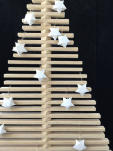 Christmas Tree Star Ornaments - Hanging Tree Ornaments by One Two Tree