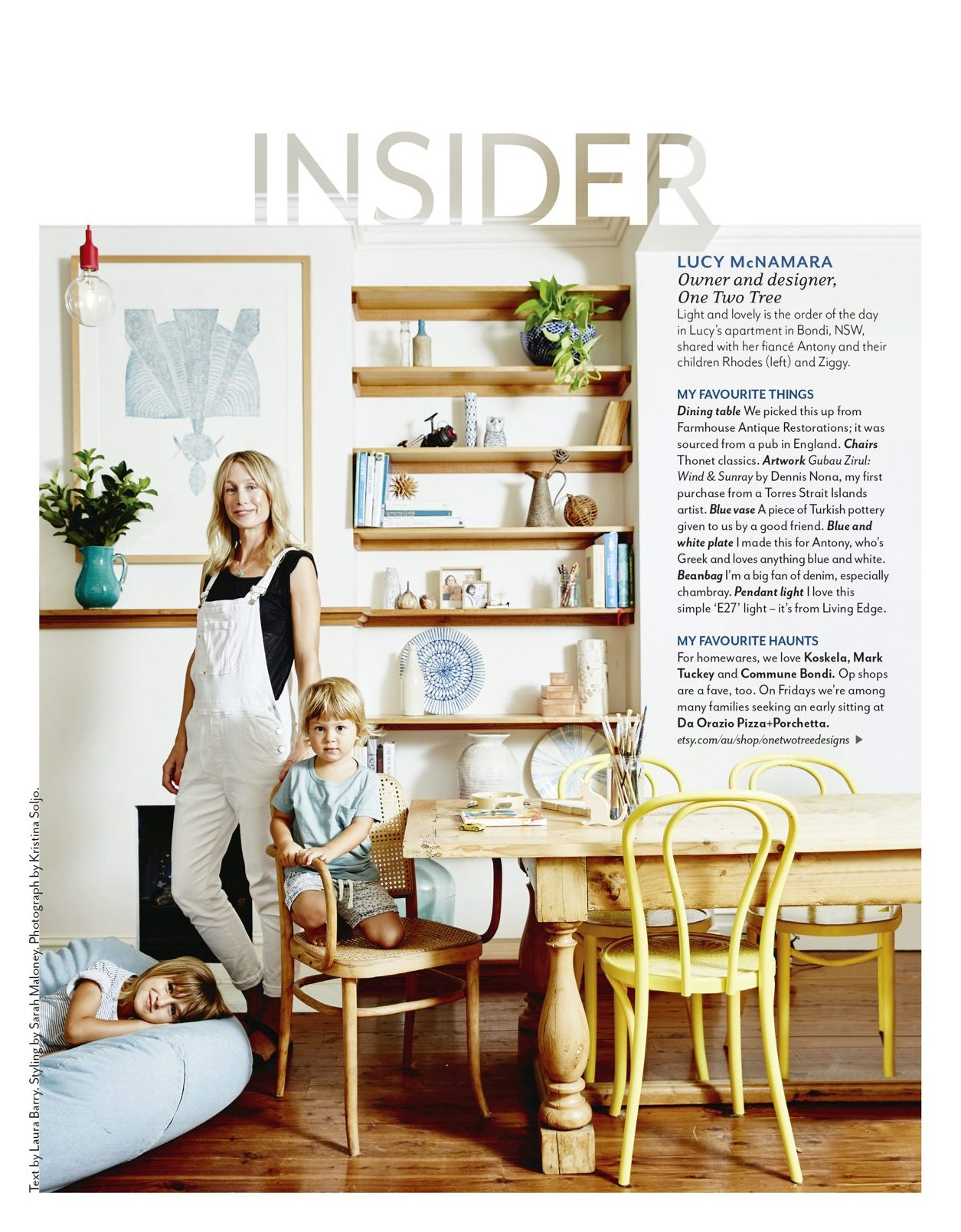 One Two Tree House and Garden magazine