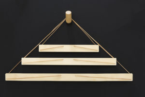 Different Size Wooden Art Hangers for Wall - Wall Decoration Hangers by One Two Tree Designs