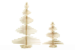 Large and Small Wooden Christmas Trees, available at One Two Tree Designs