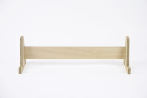 Wooden Message Board Stand from One Two Tree