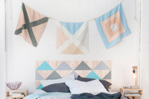 Linen Nautical Maritime Flags, available at One Two Tree Designs