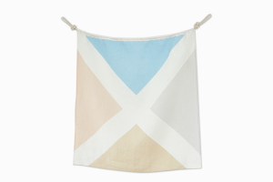 Linen Nautical Maritime Flag, available at One Two Tree Designs