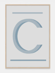 Letter C Wall Decor Art