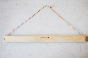 6x4 Wooden Art Hanger, available at One Two Tree Designs