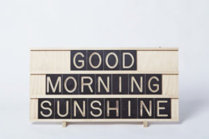 Good Morning Sunshine - Wooden Message Board from One Two Tree Designs