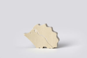 Wooden Echidna Decor from One Two Tree