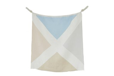 Linen Nautical Flag M1 from One Two Tree