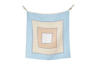 Linen Nautical Flag W from One Two Tree