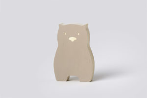 Wooden Wombat Decor Mocha from One Two Tree