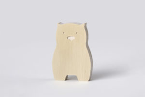Wombat Wooden Decor from One Two Tree