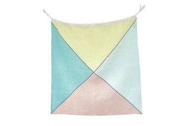 Linen Nautical Flag Z from One Two Tree