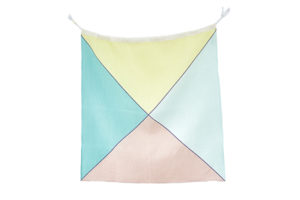 Linen Nautical Maritime Flag W from One Two Tree Designs