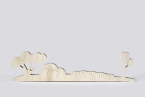 Australian Landscape Wooden Toy from One Two Tree Designs