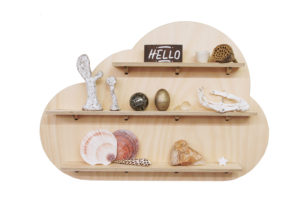 Dreamy Cloud Wall Shelf Treasure Board Decoration