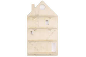 Wooden Play House Wall Shelf - One Two Tree Designs