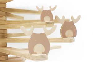 Reindeer Christmas Tree Ornaments - Modern Christmas Tree Decorations by One Two Tree Designs