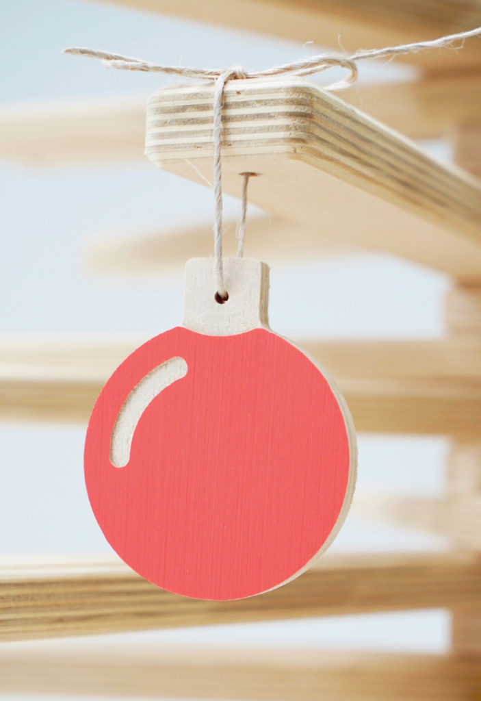 Christmas is Coming, celebrate with our wooden baubles