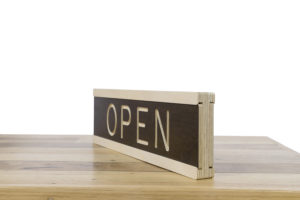 Open/Closed Sign - One Two Tree Designs