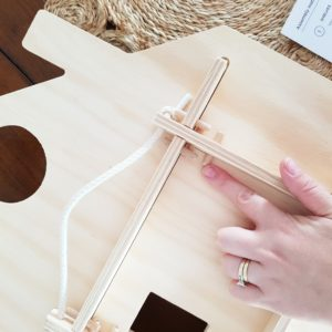 DIY Playhouse Treasure Board Assembly - Wooden Wall Shelf by One Two Tree Designs