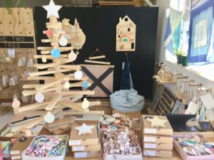 One Two Tree Studio with Wooden Decorative Accessories