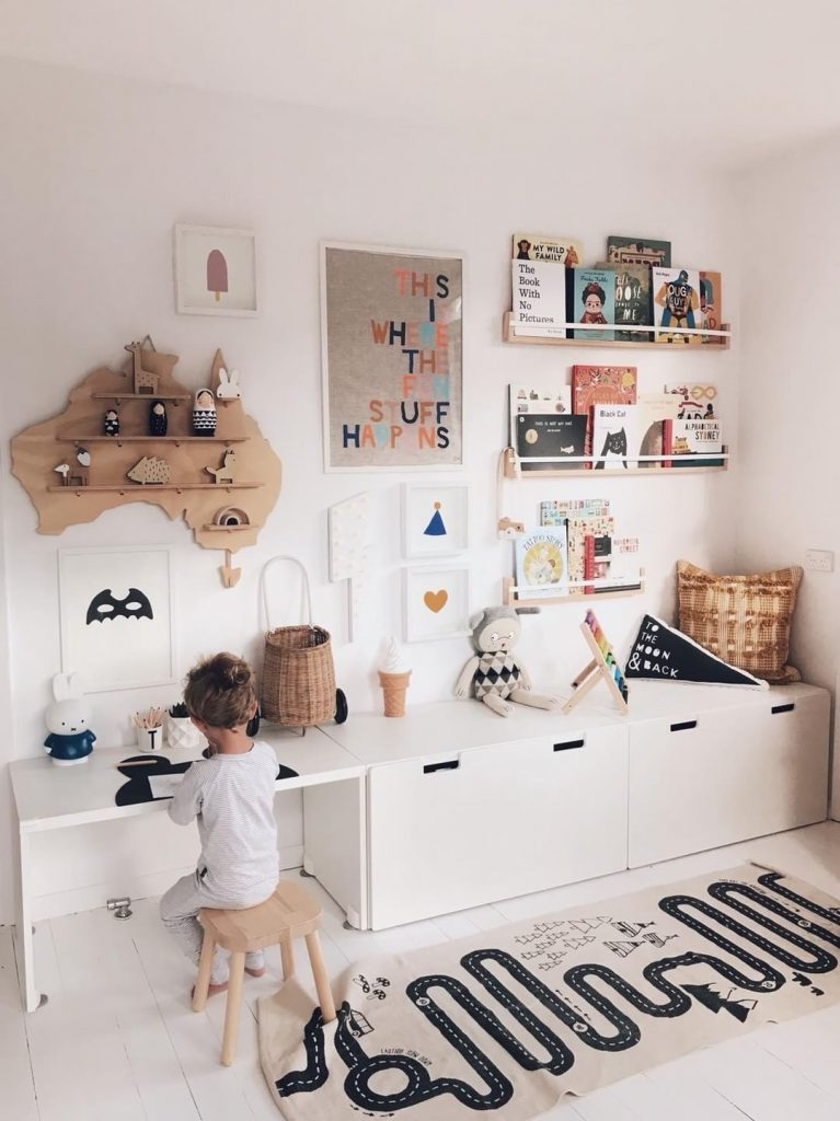 Australia Treasure Boards - Floating Wall Shelves by One Two Tree Designs